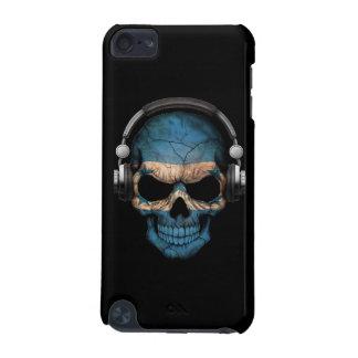 Customizable Honduras Dj Skull with Headphones iPod Touch 5G Covers