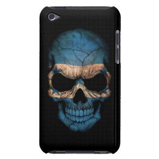 Customizable Honduras Flag Skull Barely There iPod Case