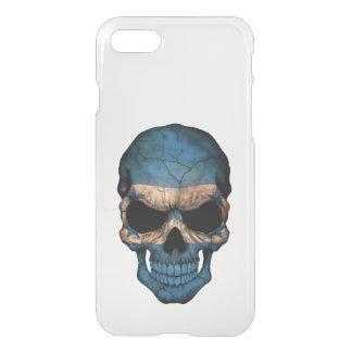 Customizable Honduras Flag Skull iPhone 7 Case