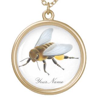 Customizable Honey Bee Necklace