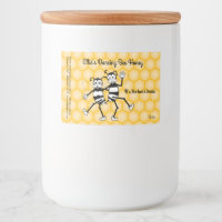 Customizable honey jar label