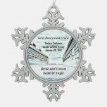 Customizable Honeymoon Cruise Ship Ornament