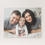 "Customizable Horizontal Family Photo Puzzle<br><div class=""desc"">Add a unique twist on family fun with this custom family photo puzzle.</div>"