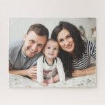 "Customizable Horizontal Family Photo Puzzle<br><div class=""desc"">Add a unique twist on family fun with this custom family photo puzzle.</div>"