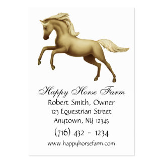 Customizable Horse Lovers Business Card