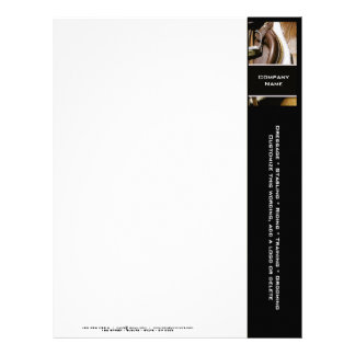 Customizable horse ranches stables rodeos customized letterhead