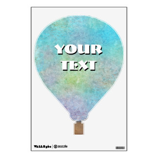 (Customizable) Hot Air Balloon Wall Sticker
