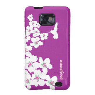 Customizable: Hummingbird Samsung Galaxy SII Cases