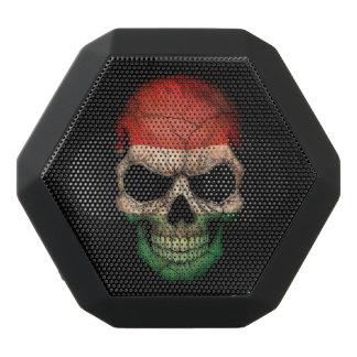 Customizable Hungarian Flag Skull Black Boombot Rex Bluetooth Speaker