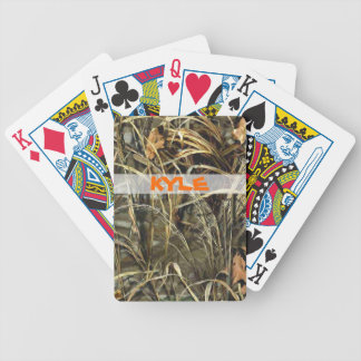 Customizable Hunting Camo Deck of Cards