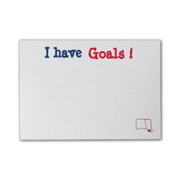 simply_rantastic Customizable I have Goals Post It's Post-it Notes