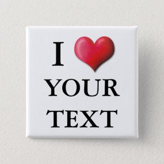 Customizable I Heart Button 0002