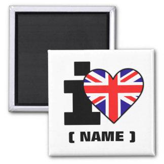Customizable I Heart (Name) Magnet