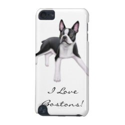Case-Mate Barely There 5th Generation iPod Touch Case with Boston Terrier Phone Cases design