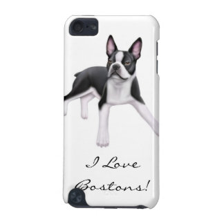 Customizable I Love Boston Terrier Dogs Speck Case iPod Touch 5G Case