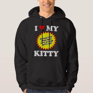 CUSTOMIZABLE I Love My Kitty Hoodie