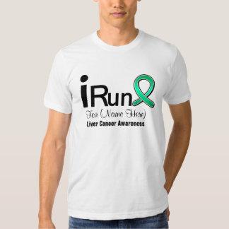 Customizable I Run For Liver Cancer Awareness Dresses