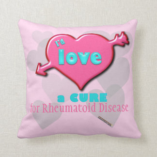 Customizable I'd love a CURE pillow