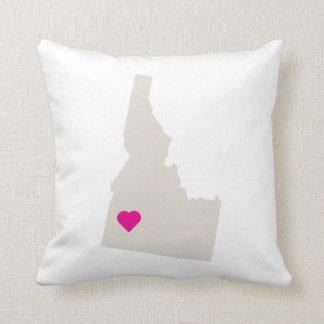 Customizable Idaho State Love Reversible Pillow