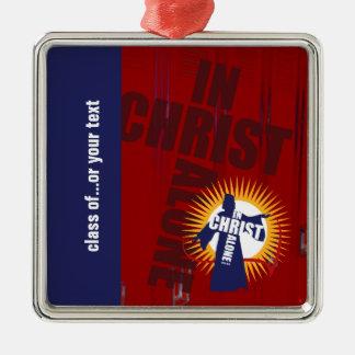 Customizable In Christ Alone Ornament