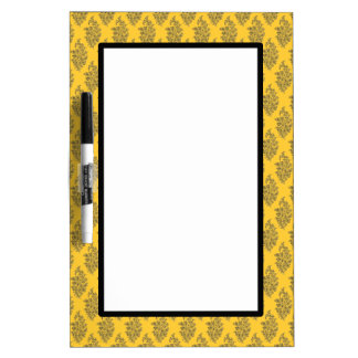 Customizable India Block Print Dry-Erase Whiteboard