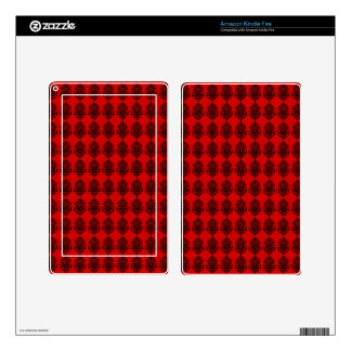 Customizable India Block Print Skins For Kindle Fire
