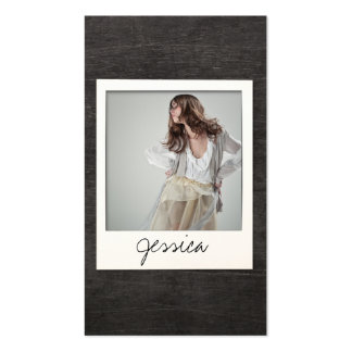 Customizable Instant Photo Card for Actors, Bands
