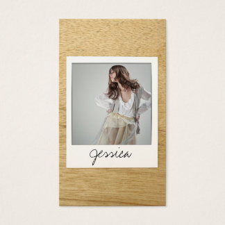 Customizable Instant Photo Card II - Actors, Bands