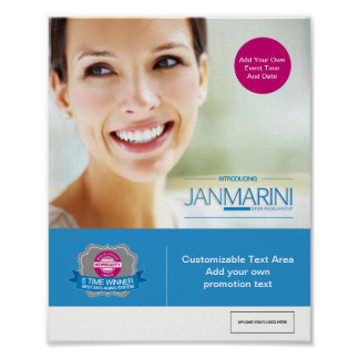 """Customizable """"Introducing JMSR"""" Poster"""