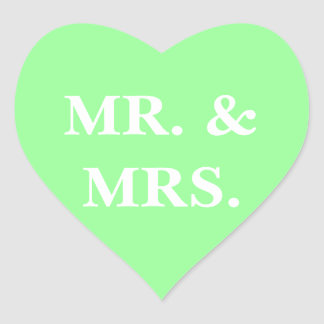 Customizable Invitation Mint Green Sticker