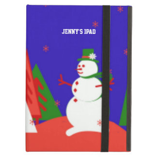 Customizable iPad Air Christmas Case - Personalize iPad Air Cases