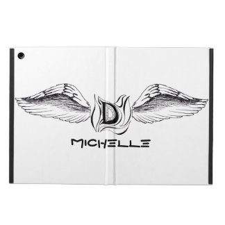 """Customizable iPad Case with Winged """"D"""""""