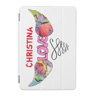 Customizable Ipad Mini Cover with Winged LOVE