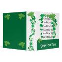 Customizable Irish binder