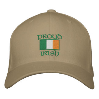 Customizable Irish Flag Hats