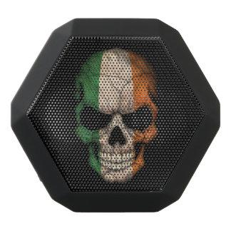 Customizable Irish Flag Skull Black Boombot Rex Bluetooth Speaker