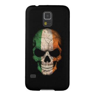 Customizable Irish Flag Skull Case For Galaxy S5