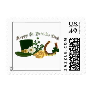 CUSTOMIZABLE Irish St. Patrick's Design Postage