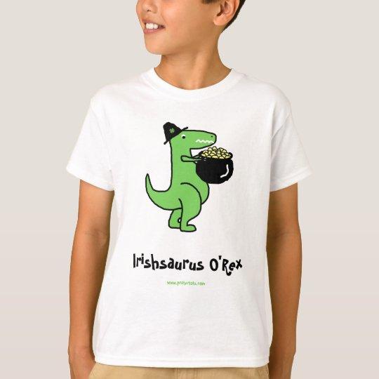 Customizable Irishsaurus O'Rex T-Shirt