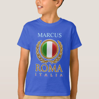 Customizable Italian Flag T-Shirt