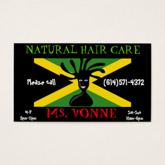 Customizable Jamaica Flag Business Card