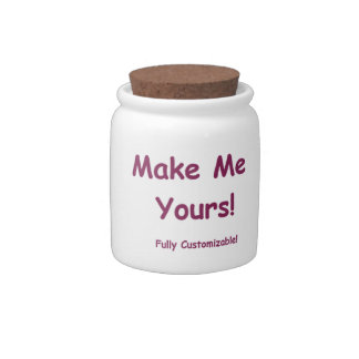Customizable Jar~ candy and treats ~ Make Me Yours Candy Jar