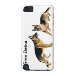 Case-Mate Barely There 5th Generation iPod Touch Case with German Shepherd Phone Cases design
