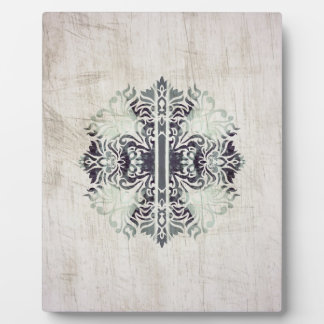 Customizable Kaleidoscope Celtic Pattern Plaque