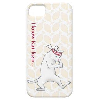 Customizable: Kat Jitsu iPhone 5 Covers