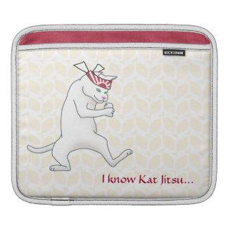 Customizable: Kat Jitsu Sleeve For iPads