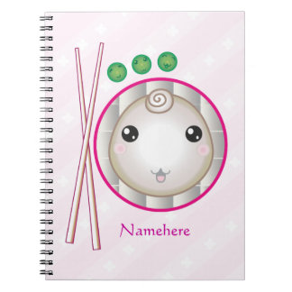 Customizable: Kawaii little dumpling Notebook