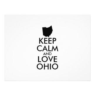 Customizable KEEP CALM and LOVE OHIO Flyer