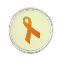 Customizable Kidney Cancer Lapel Pin