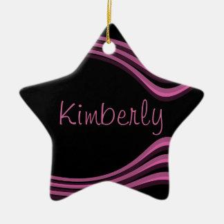 Customizable Kimberly Ceramic Ornament